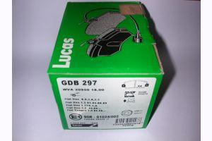 Bremsbelag Fiat GDB 297