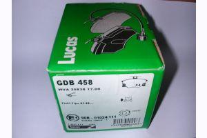 Bremsbelag Fiat GDB 458