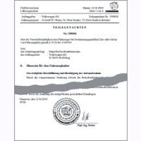 Gutachten Autec Leichtmetallfelge 7,5x16  B756